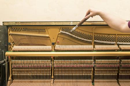Réglage du piano droit