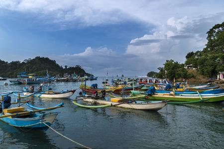 Matin dans la plage Sendang Biru, Malang, East Java