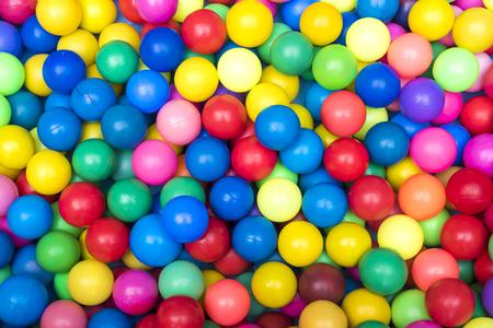 Beaucoup de fond de boules colorées