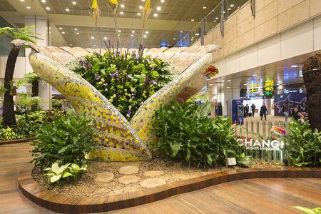 Enchanted Garden At Changi Airport.