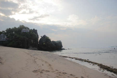 YOGYAKARTA: white sand beach in yogyakarta