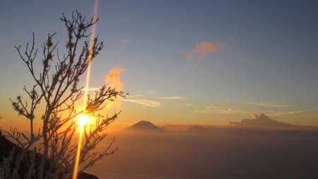 beautifull: beautifull sunset at mount