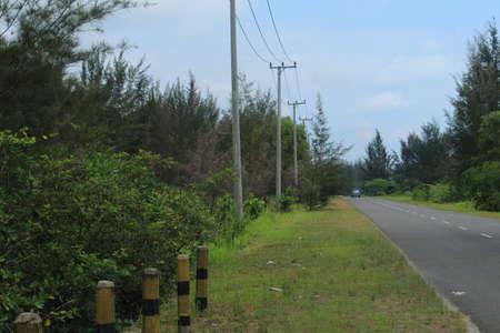 hill street in pangkalpinang,Indoneisa