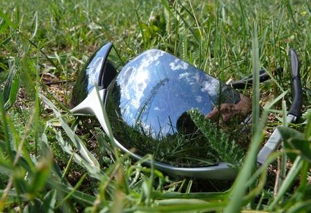 reflexion: reflexi�n sobre las gafas de sol