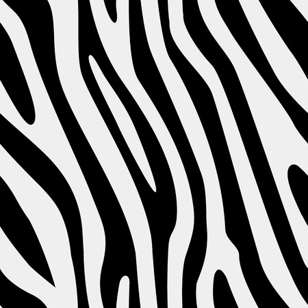 deposition: Vector seamless zebra texture Illustration