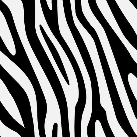 Vector seamless zebra texture Ilustrace