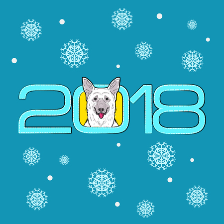New year - the year of the dog