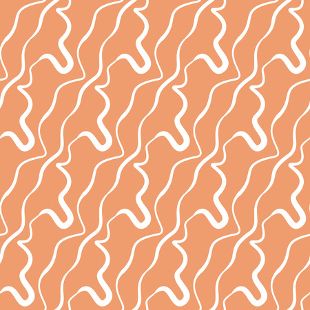 vector two-color seamless pattern of interlacing lines