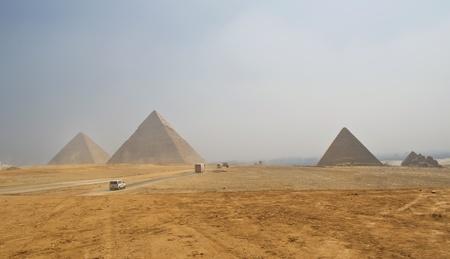 Pyramids of Giza in Egypt Stock Photo - 11359828