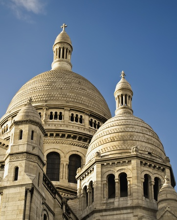 Monument of the Sacred Coeur in Paris  photo