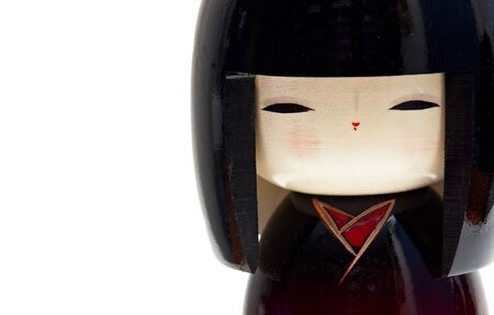 Kokeshi Doll, Japanese typical doll  photo