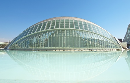 VALENCIA - SEPTEMBER 11:Hemisferic in the City of Arts and Sciences