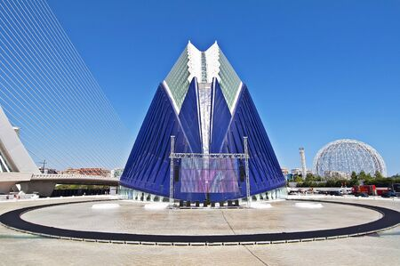 VALENCIA - SEPTEMBER 11: Agora building in the City of Arts and Sciences