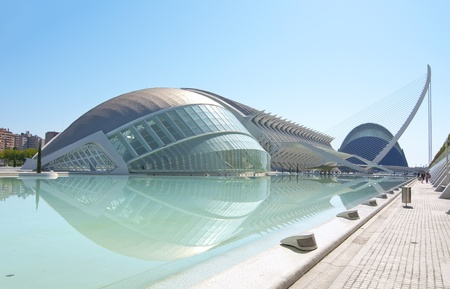 oceanographic: VALENCIA - SEPTEMBER 11: City of Arts and Sciences