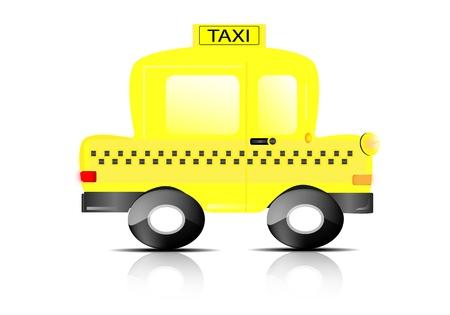 taxista: Taxi de coches