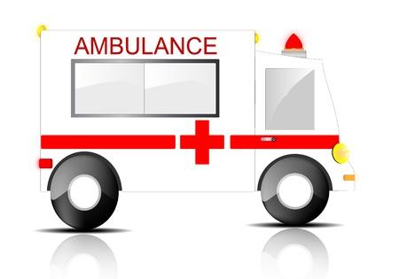 er: Ambulance  Illustration