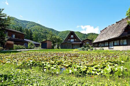 Typical house in Japan Shirakawago Stock Photo - 11773263