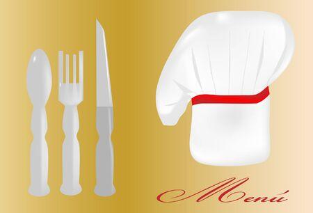 Fund chef Illusztráció