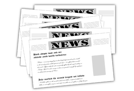 newscast: Newspaper