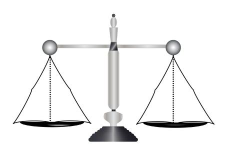 Justice, balance balanced  Stock Vector - 11889225