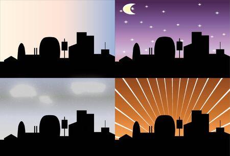city ,skyline Stock Vector - 12000921