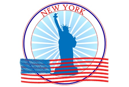 New York logo Stock Vector - 12000928