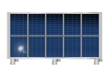 climatic: Panel solar Vectores