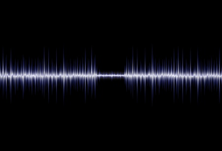 Waveform abstract background Vector