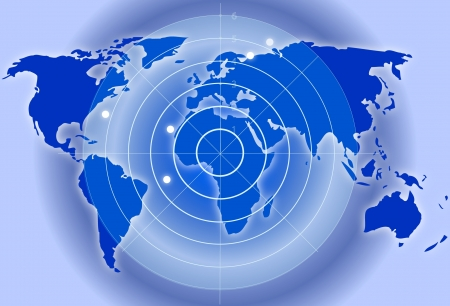 radar: Map with radar
