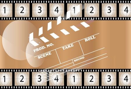 cinematografico: Cine de fondo Vectores