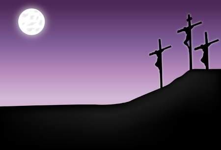 resurrected: Crucifixion of Jesus Christ