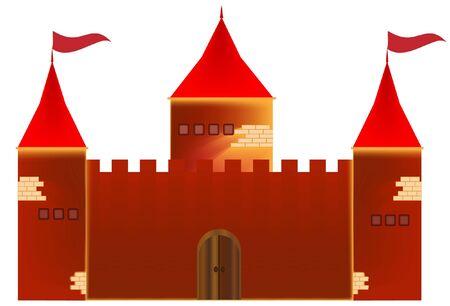 Castle  Stock Vector - 12041169