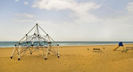 Playground on the beach sand Stock Photo - 12313993
