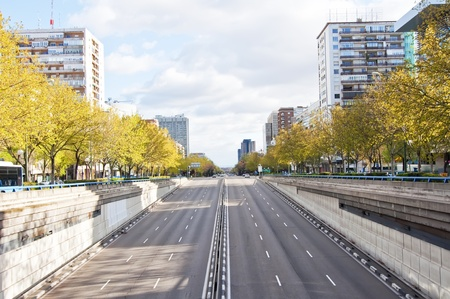 carriageway: Dual carriageway with six lanes
