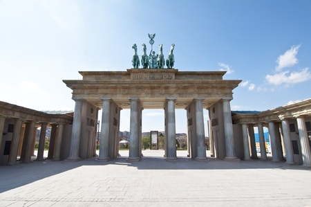 Representation of the monument The Brandenburg Gate, Berlin  Stock Photo