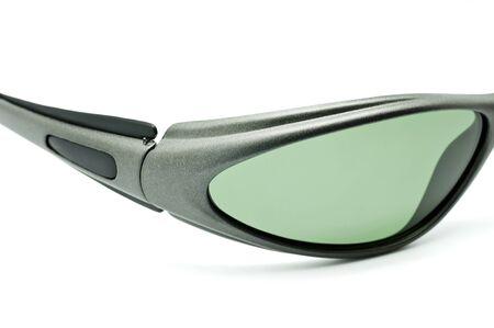 Sunglasses closeup on white background photo