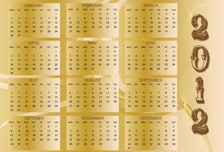 week end: Calendario 2012