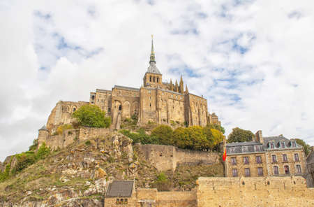 View of the famous Le Mont Saint Michel in Normandy, France Stock Photo - 14147286