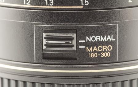 Photographic objective closeup macro 180-300mm photo