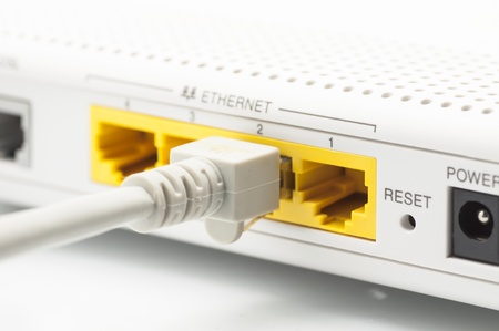 Wireless router for internet connection