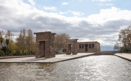 Debod Temple photo