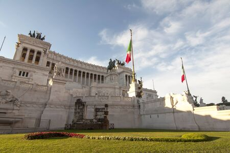 emmanuel: Monument to Victor Emmanuel II  in Rome, Italy. Made in honor of the first king of united Italy, Victor Emmanuel II in 1911