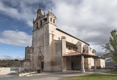 alava: Vista de San Juan Bautista en Alava Foto de archivo