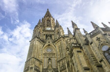 Buen Pastor cathedral, located in San Sebastian photo