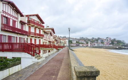 pays: Beach in the French commune of  Saint-Jean-de-Luz