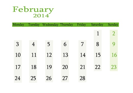 event planning: February 2014 in English