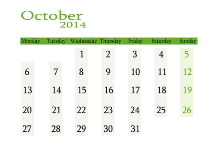 event planning: October 2014 in English Illustration