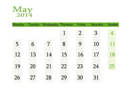 event planning: May 2014 in English