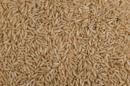 unpolished: Unpolished brown rice grain texture background surface