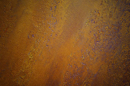purple metal: Rusty metal texture background gold and purple